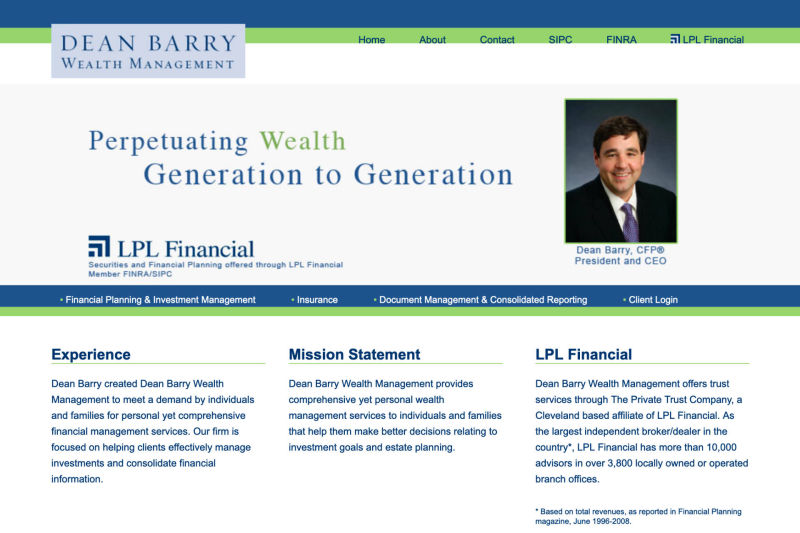 Dean Barry Wealth Management