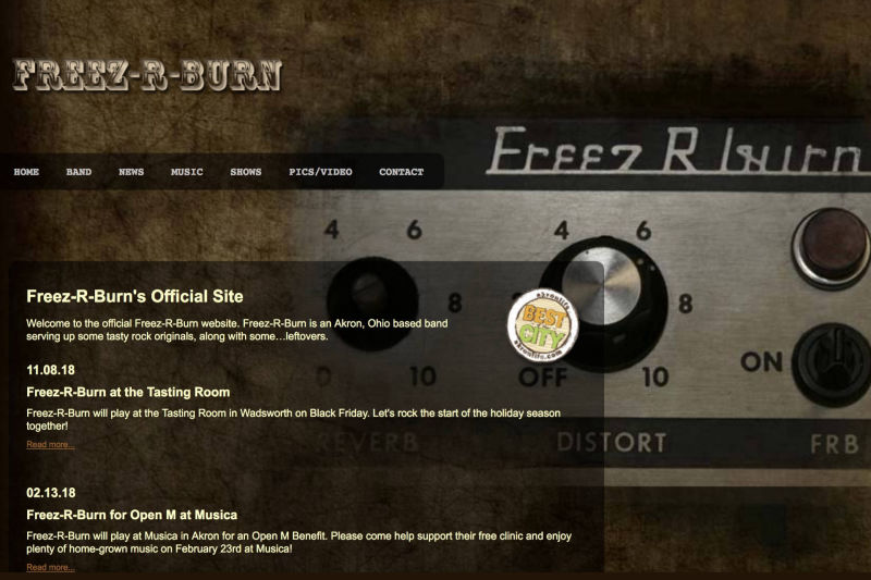 Freez-R-Burn Band