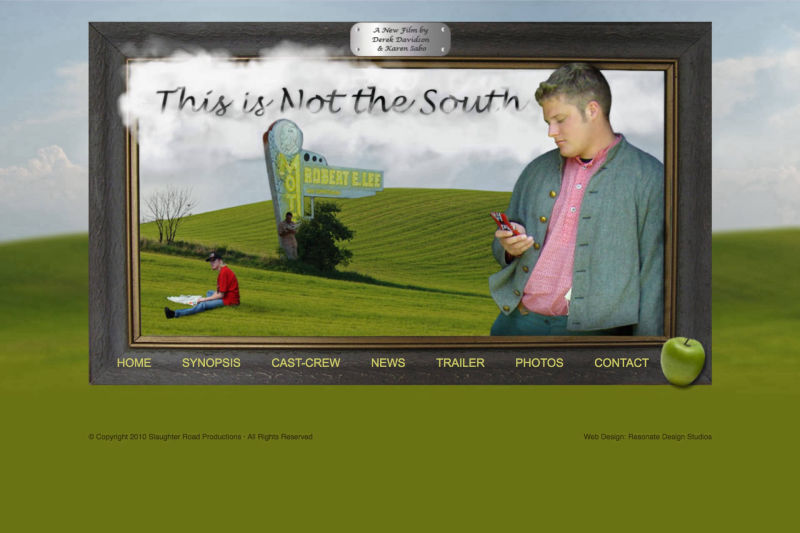 This Is Not The South Movie Website